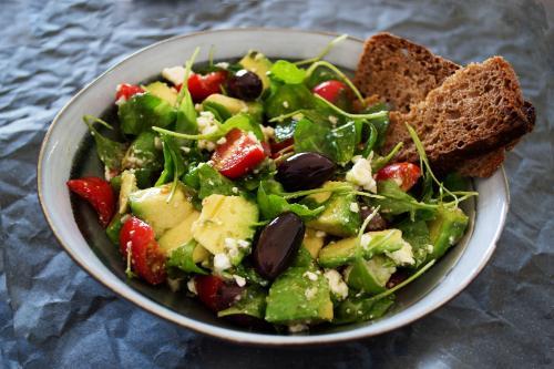 Salads Action On Salt